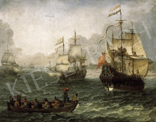 Willaerts, Adam - Tengeri táj hadihajókkal | 13. Aukció aukció / 36 tétel