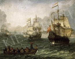 Willaerts, Adam - Seaside Landscape with Warships