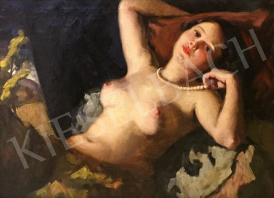 Unknown painter - Alluring look painting