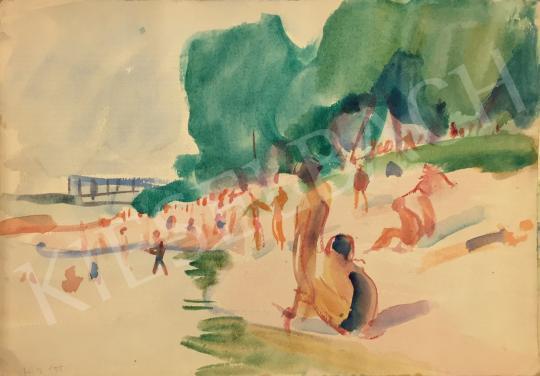 For sale Huzella, Pál - Bathers 's painting