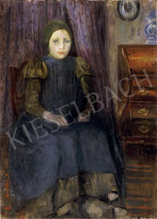 Perlmutter Izsák - Holland kislány | 13. Aukció aukció / 38 tétel