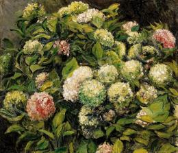 Csók, István - Flowers