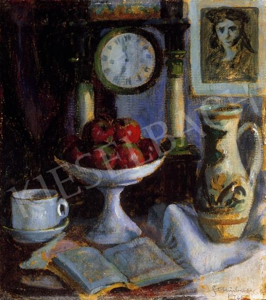 Schönberger Armand - Asztali csendélet   13. Aukció aukció / 43 tétel