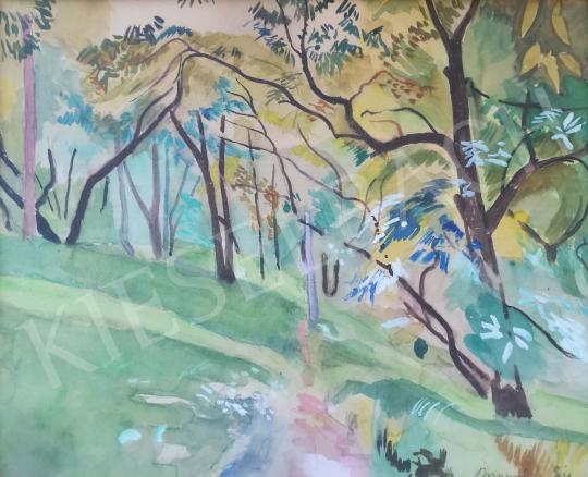 Eladó  Bornemisza Géza - Tihanyi utca, 1961 festménye