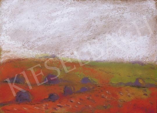 Rippl-Rónai József - Piros táj | 13. Aukció aukció / 46 tétel