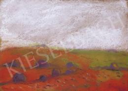Rippl-Rónai József - Piros táj