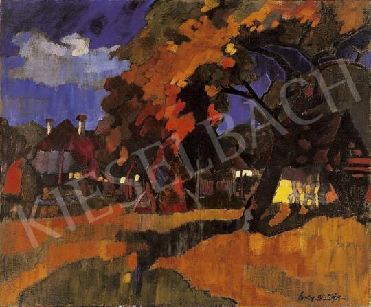 Nagy Oszkár - Naplemente Nagybányán, 1930-as évek | 13. Aukció aukció / 49 tétel