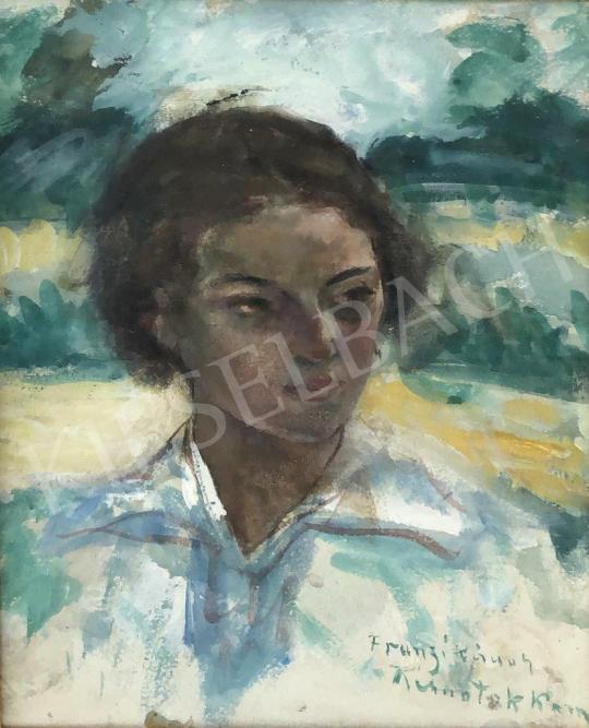 Kernstok, Károly - Franciska painting
