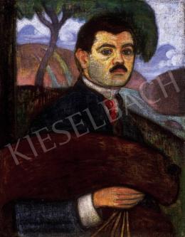 Boromisza Tibor - Önarckép