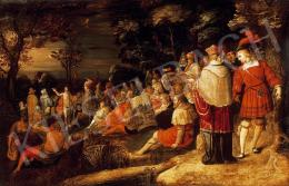 Frans Francken II köre - Keresztelő Szent János beszéde