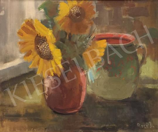 For sale Rozs, János - Sunflower Still Life 's painting