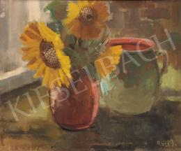 Rozs, János - Sunflower Still Life