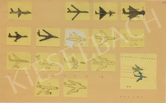 Eladó Wahorn András - Airplanes 16 festménye