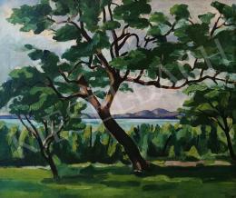 Csabai-Ékes Lajos - Folyóparti fák