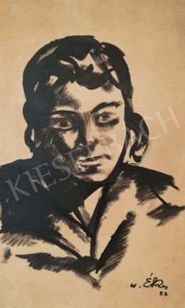 Csabai-Ékes Lajos - Feleségem, 1923