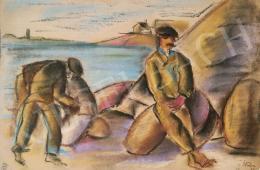 Csabai-Ékes Lajos - Rakodómunkások, 1923