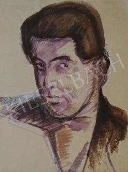 Csabai-Ékes, Lajos - Self-portrait