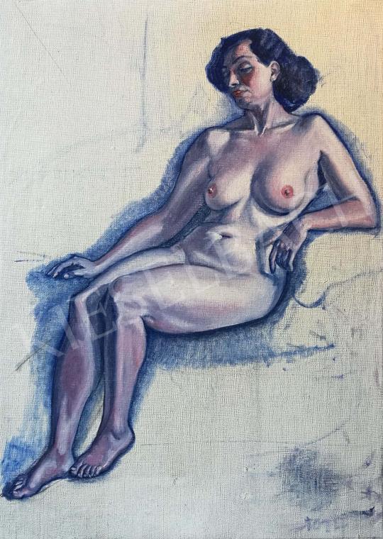 A. Tóth Sándor - A Modell festménye