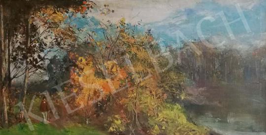 Eladó Csupor László - Őszi erdőben festménye