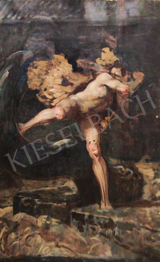 Eladó  Stein János Gábor - Vihar (MMA) festménye