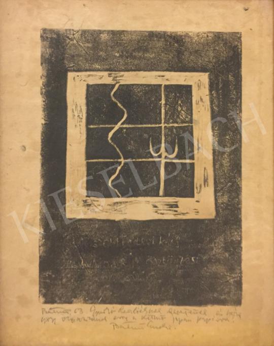 Eladó  Bálint Endre - Szentendrei rács festménye