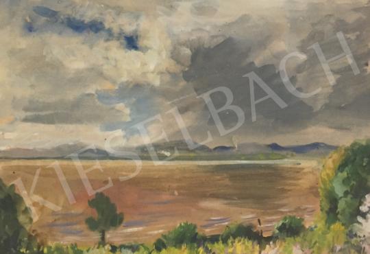 For sale  Boldizsár, István - View of Balatonfüred 's painting