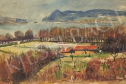 Boldizsár, István - View of Danube bend from Nagymaros