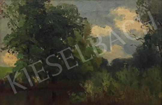 For sale  Bosznay, István - Forest 's painting