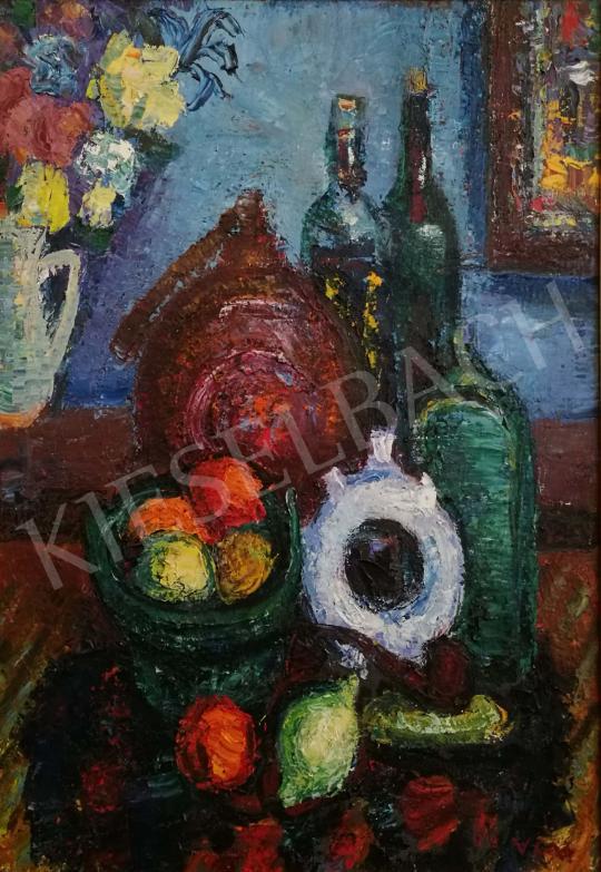 Eladó  Vén Emil - Pálinkás csendélet festménye