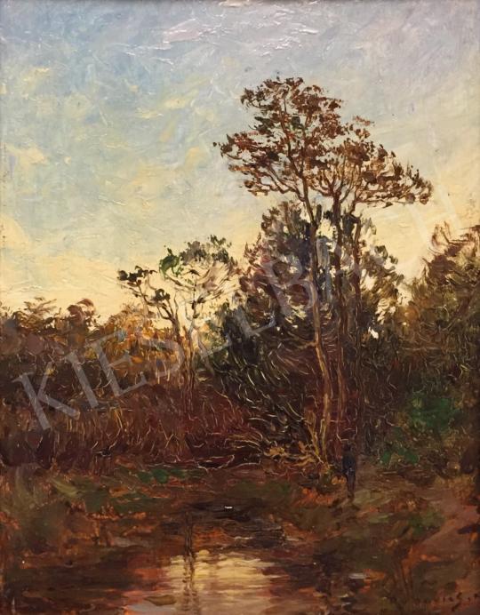 Eladó Rubovics Márk - Erdőszéle festménye