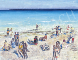 Patay, László - On the Beach, 1976