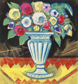 Scheiber, Hugó - Art Deco Bunch with Roses, 1930s
