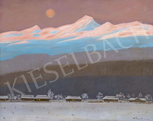 Katona Nándor - Alkonyat a Tátrában | 62. Őszi Aukció aukció / 23 tétel