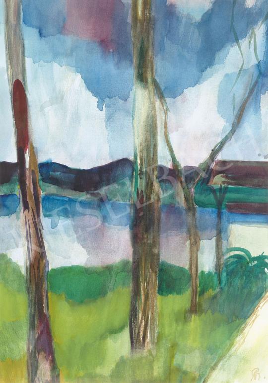 Bernáth Aurél - Kilátás a Dunára (Gödi kert) | 62. Őszi Aukció aukció / 33 tétel