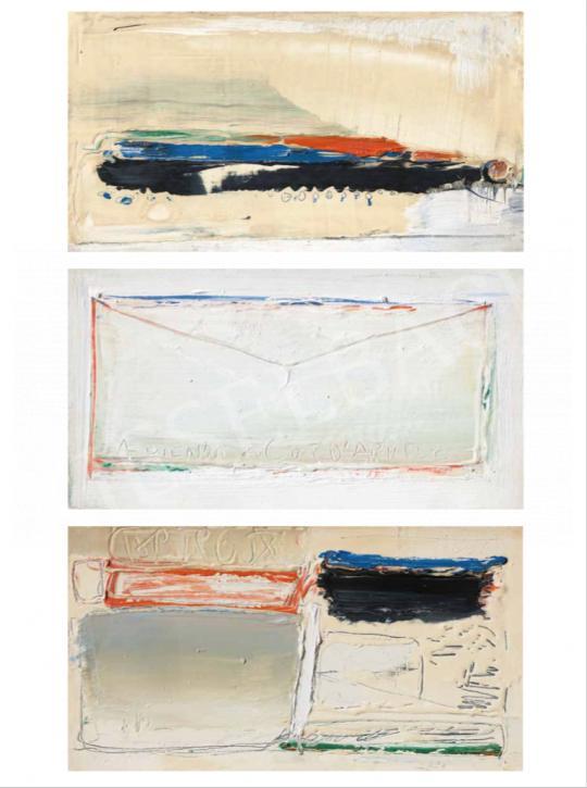 Hencze Tamás - El nem küldött levél, 1962 | 62. Őszi Aukció aukció / 37 tétel