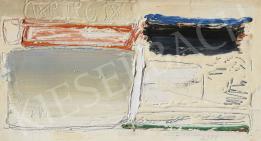 Hencze Tamás - El nem küldött levél, 1962 festménye