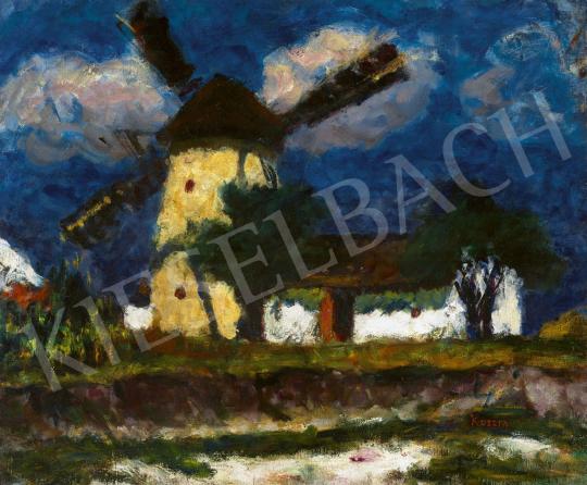 Koszta József - Szélmalom, 1920 körül | 62. Őszi Aukció aukció / 41 tétel