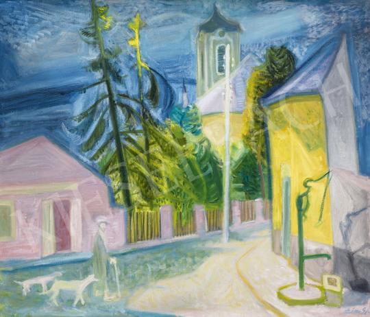 Szín György - Szentendre, 1930-as évek | 62. Őszi Aukció aukció / 63 tétel