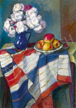 Kádár, Géza - Still Life with Flowers, 1934
