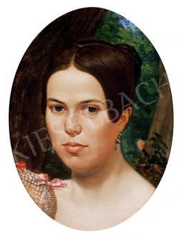 Sterio Károly - Női portré
