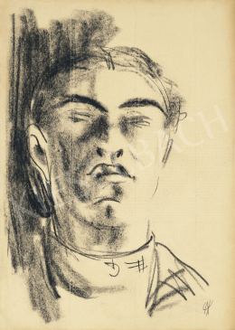 Ámos, Imre - Self Portrait