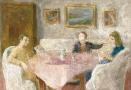 Szőnyi, István - Afternoon Lights in the Room (Family, Sunday)