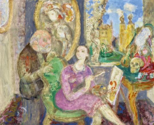 Szabó, Vladimir - The Young Painter (The Mentor), 1986 | 62st Autumn Auction auction / 118 Item
