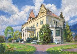 Boldizsár István - Zebegényi kastély, 1959
