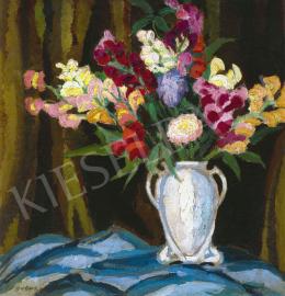 Balla Béla - Színes virágok a szalonban