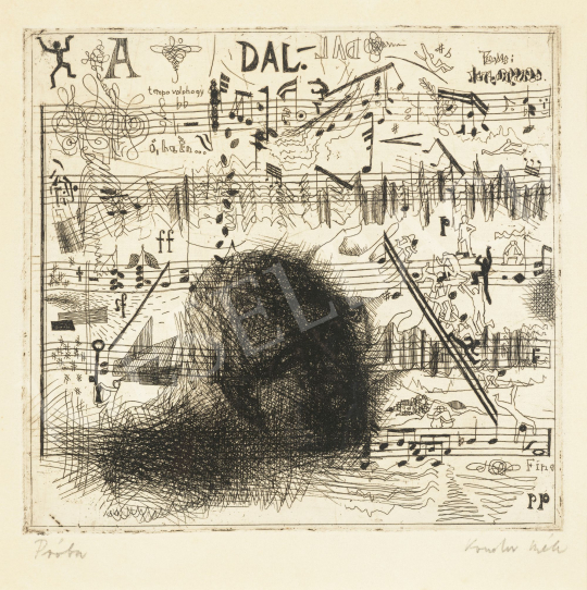Kondor, Béla - The Song, 1967 | 62st Autumn Auction auction / 125 Item