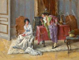 Kéméndy Jenő - Szalon, 1889