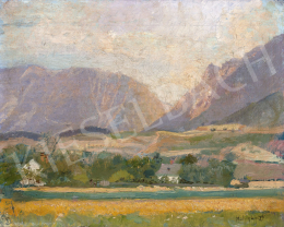 Mednyánszky, László - Little Village in the Tatra