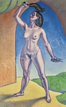 A. Tóth Sándor - A legyőzött Sámson (Delila), 1941