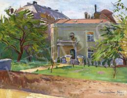Bornemisza, Géza - Villa Garden in Rózsadomb, 1923